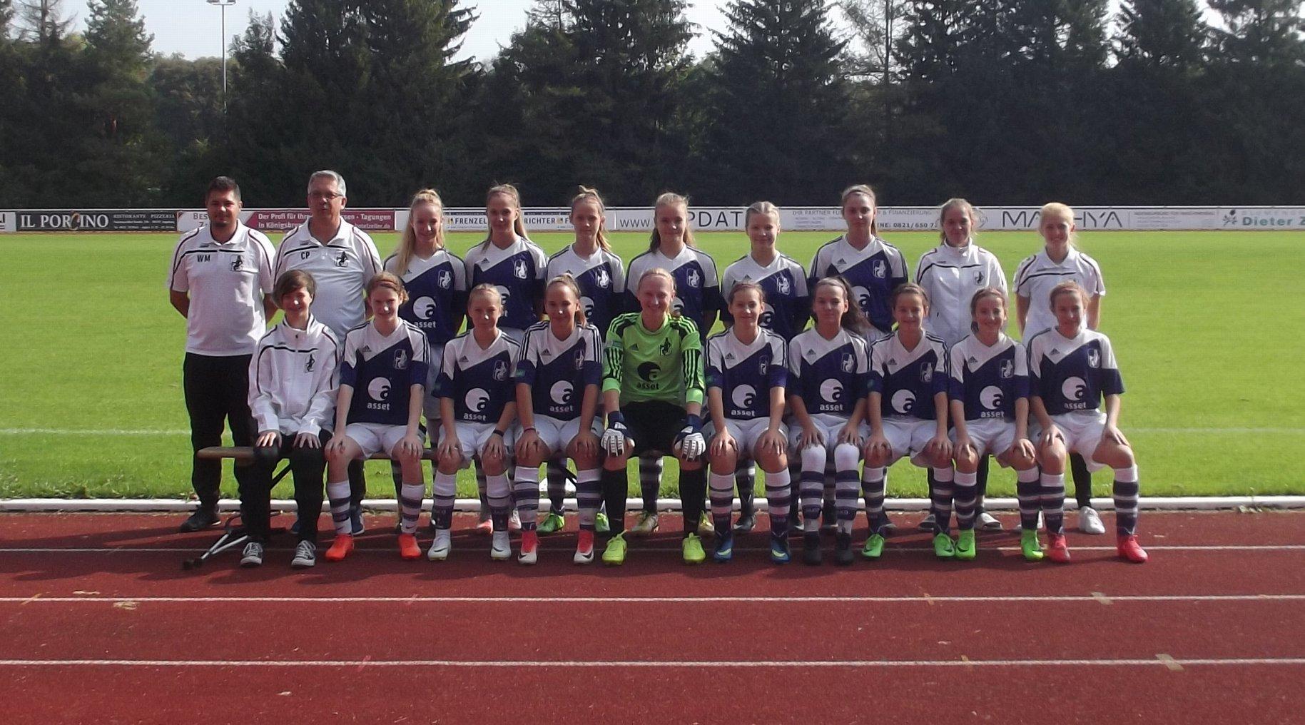 TSV Schwaben Augsburg U17 (B2) Juniorinnen - Saison 2018/2019 Foto: TSV Schwaben Augsburg