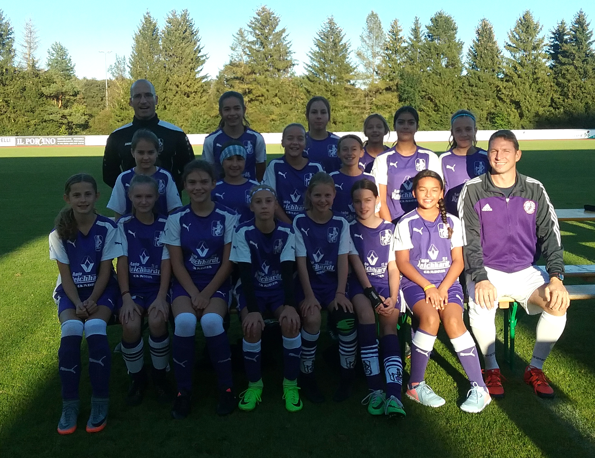 TSV Schwaben U13 (D1) Juniorinnen - Saison 2018/2019